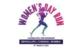 Women's Day Run at Bengaluru 2020