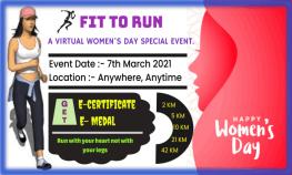 Womens Day Run 2021