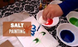 salt-painting