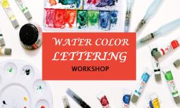 water-lettering