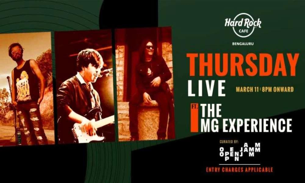 Thursday Live ft. The MG Experience