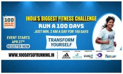 100 Days of Running