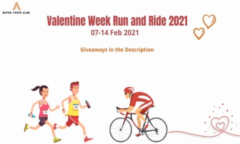 Valentine Week Run And Ride 2021