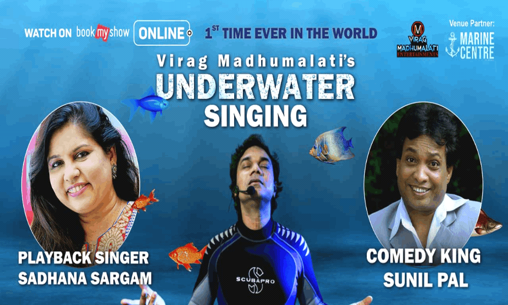 Virag Madhumalati Underwater Live Singing Concert