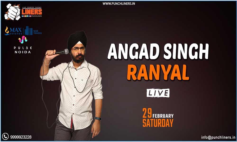 Angad Singh Ranyal Live