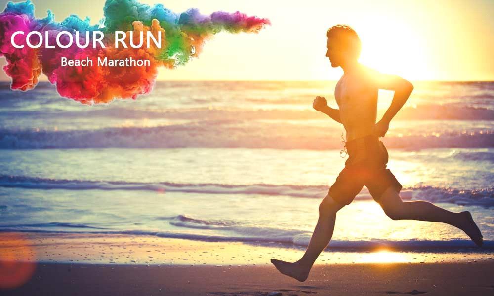Color Run – Beach Marathon