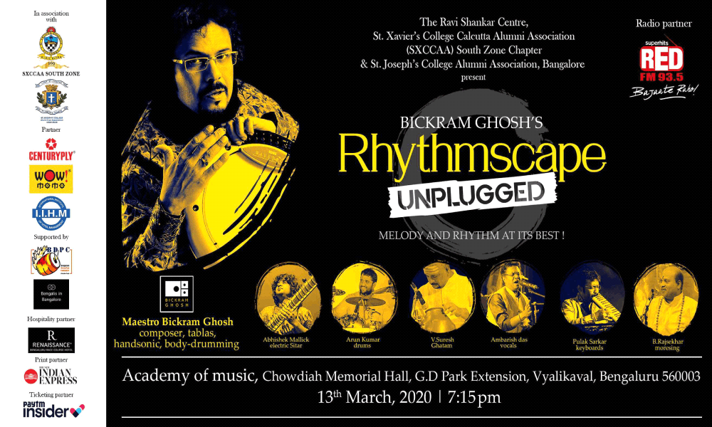 Rhythmscape Unplugged By Bickram Ghosh