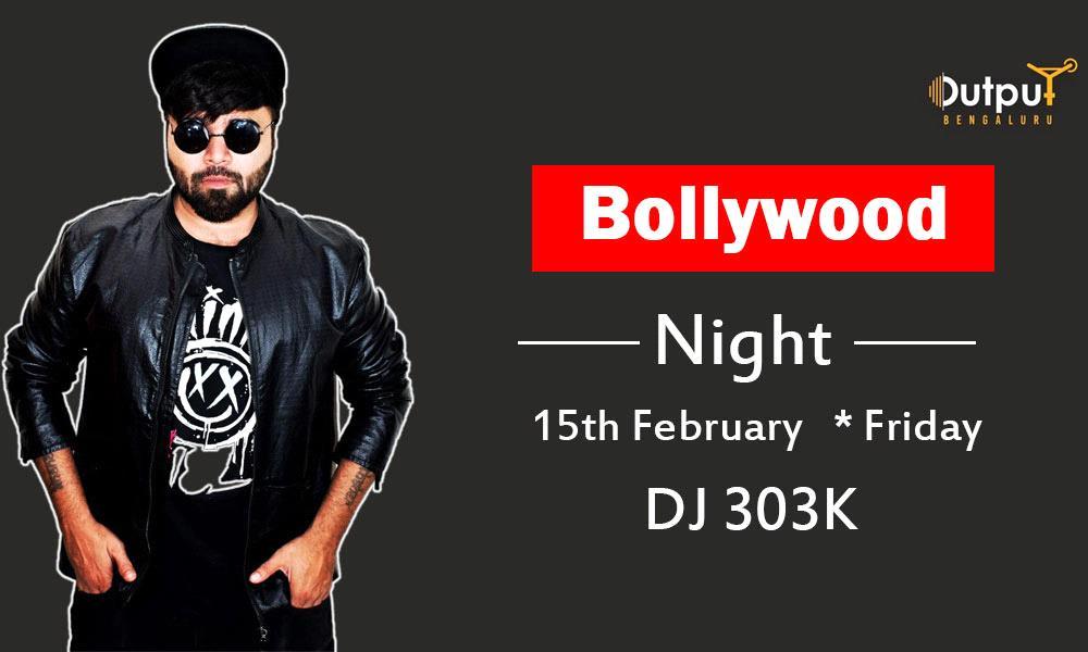 Bollywood Night with DJ 303K