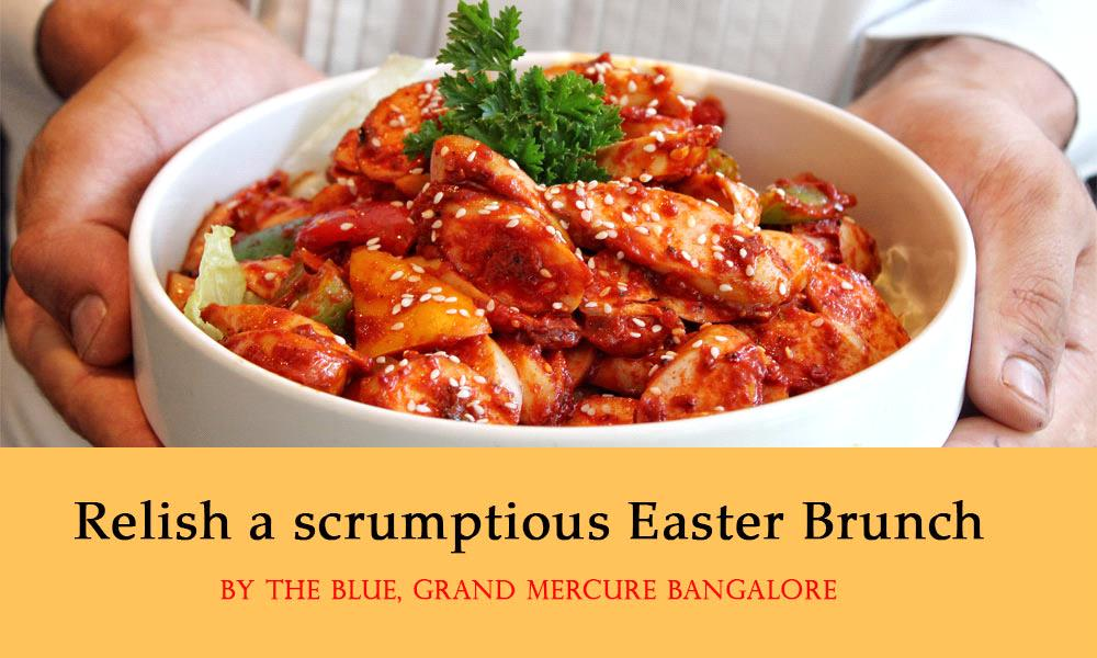 Relish a Scrumptious Easter Brunch at Grand Mercure Bangalore