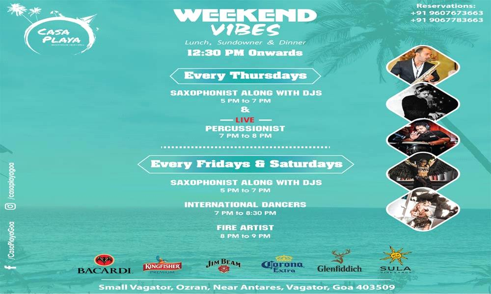 Casa Playa Weekend Vibes