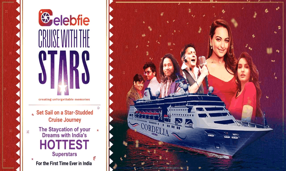 Celebfie - Cruise with the Stars