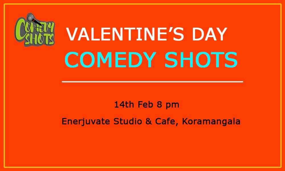 Valentine's day Comedy Shots