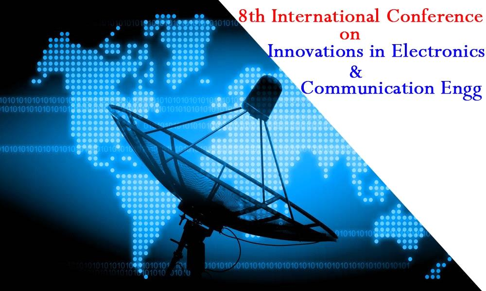 International Conference on Innovations in Electronics and Communication Engineering