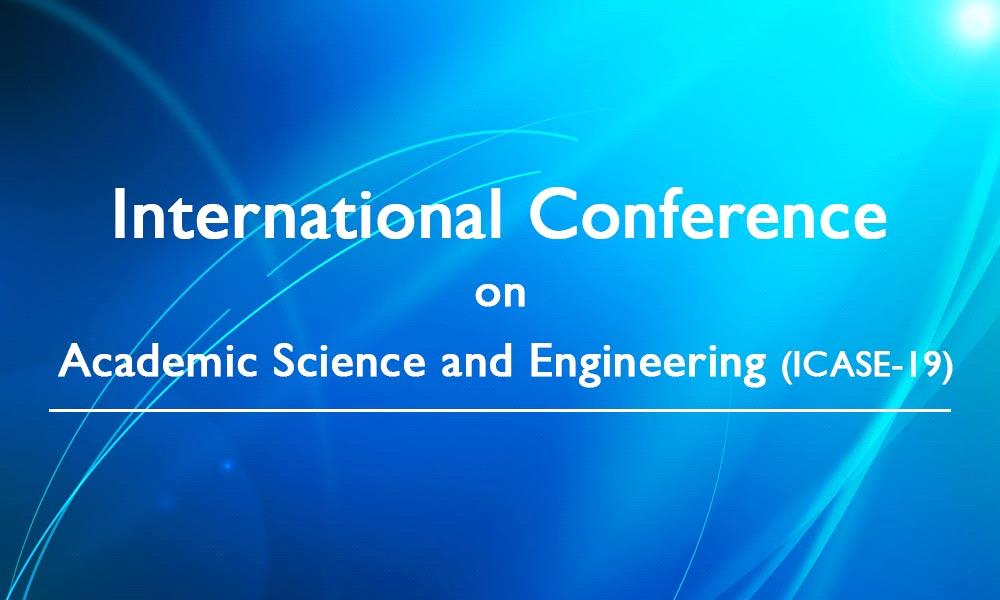 International conference on Academic Science and Engineering