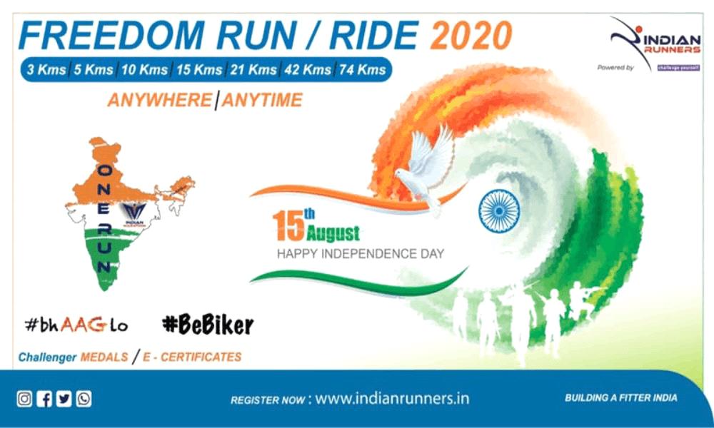 Freedom Run 2020 - Jaipur