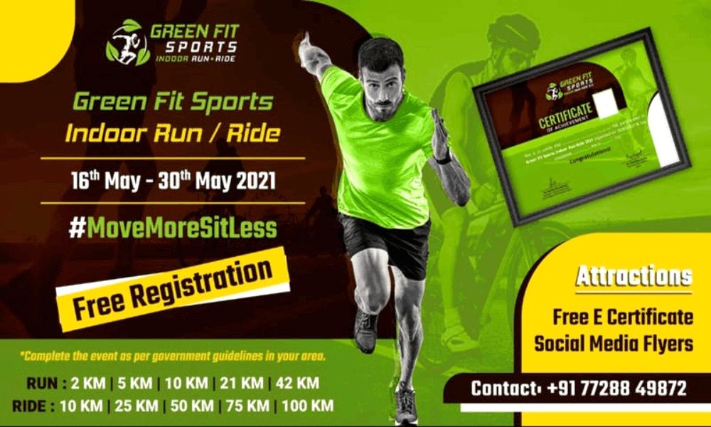 Green Fit Sports Indoor Run Ride 2.0