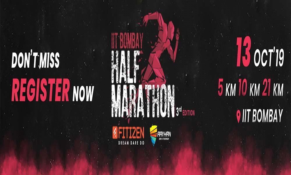 IIT Bombay Half Marathon - Season 3