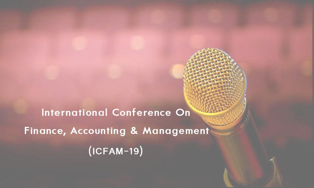 International Conference on Finance, Accounting and Management