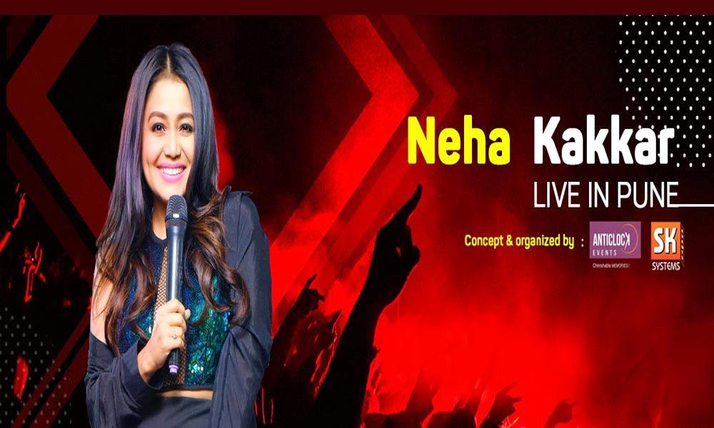 Neha Kakkar Live in Pune