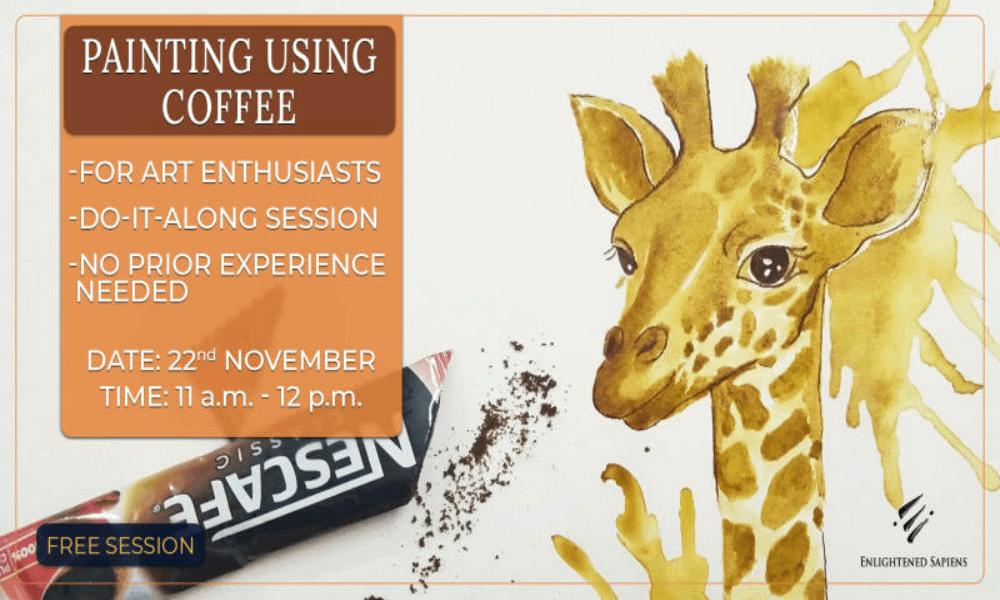 Painting Using Coffee