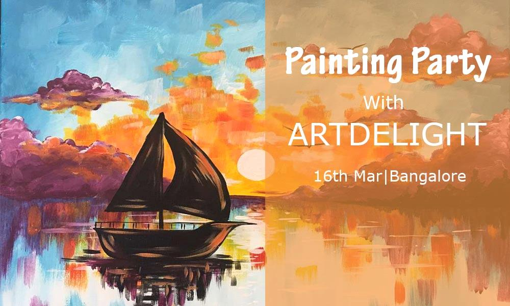 Painting Party with ArtDelight
