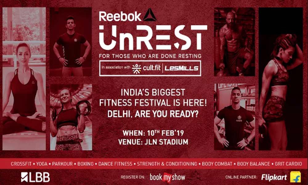 Reebok UnREST Delhi Fitness Festival 2019