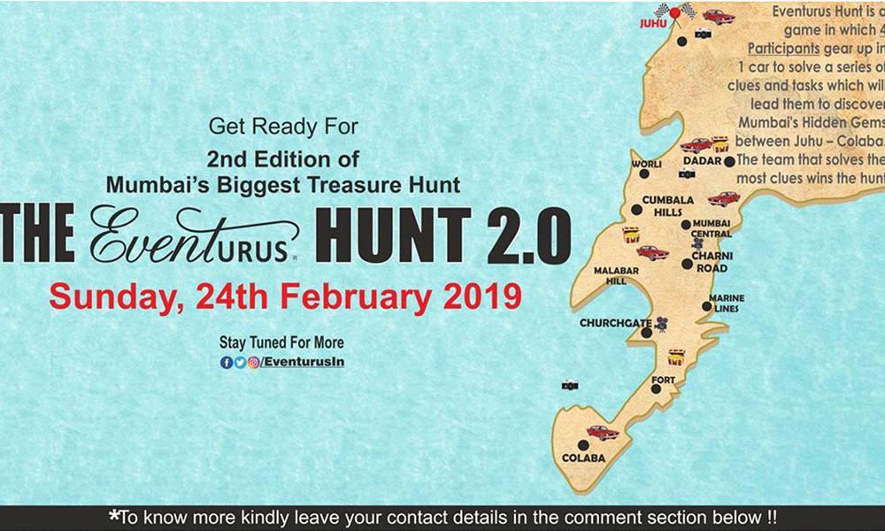The Eventurus Hunt 2.0-The Biggest Treasure Hunt in Mumbai
