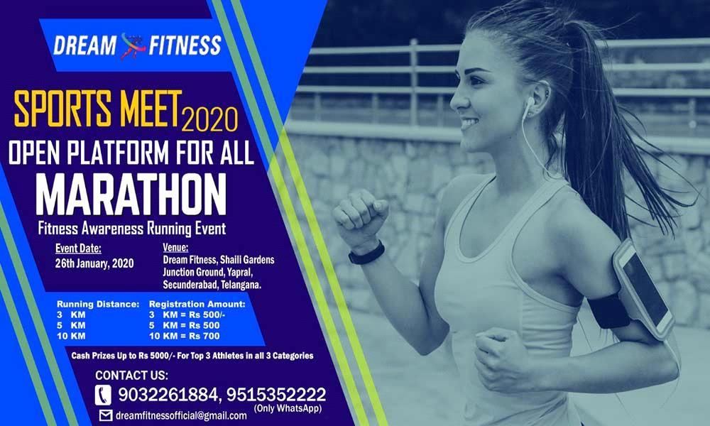 Dream Fitness Sports Meet 2020