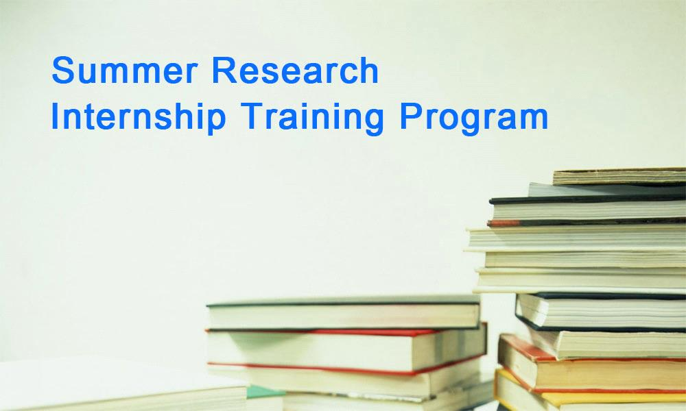 Summer Research Internship Training Program