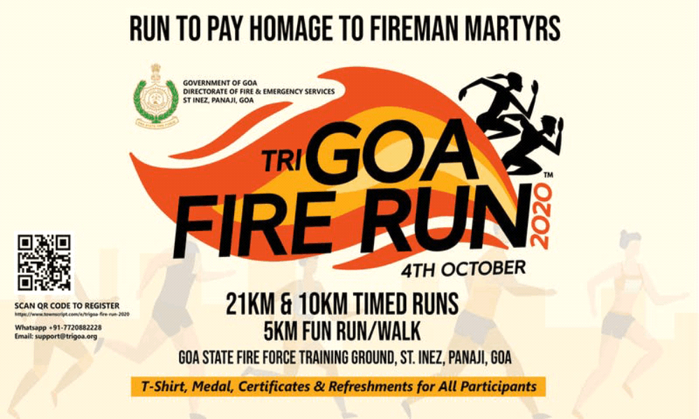 TriGoa Fire Run 2020
