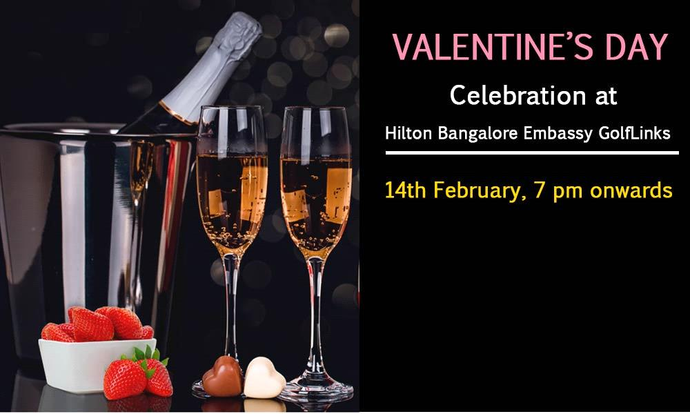 Valentine's Day Celebration at Hilton Bangalore Embassy