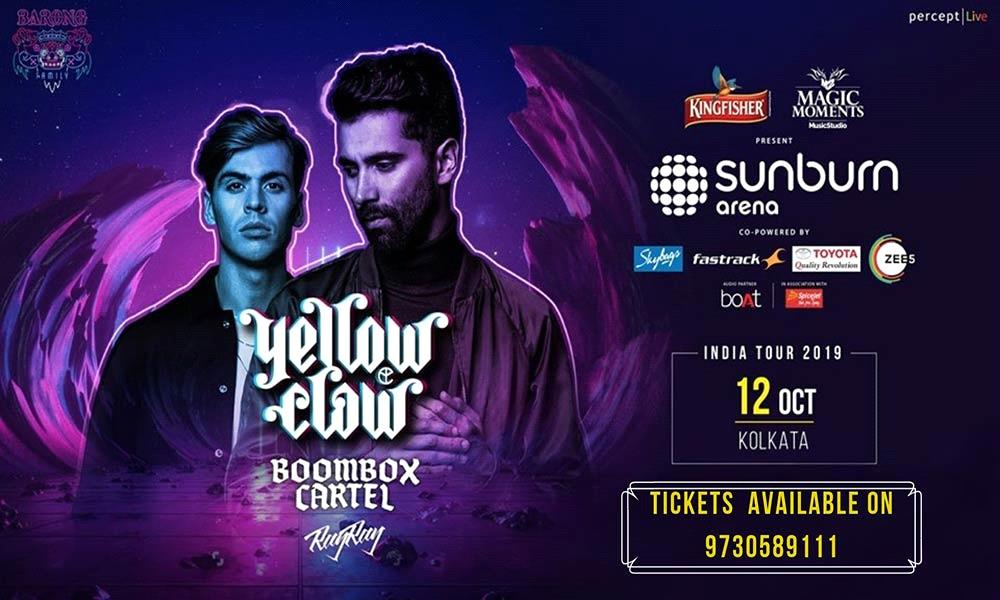 Sunburn Arena with Yellow Claw